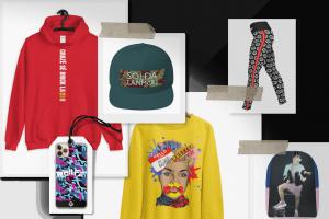 Linkleek merchandising pour artistes